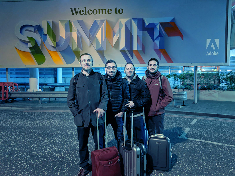 Codelanders all'Adobe Summit di Londra